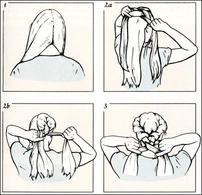 Французская коса картинки и как сделать