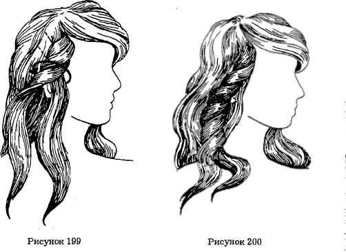 Прическа из полудлинных волос своими руками из фото 826